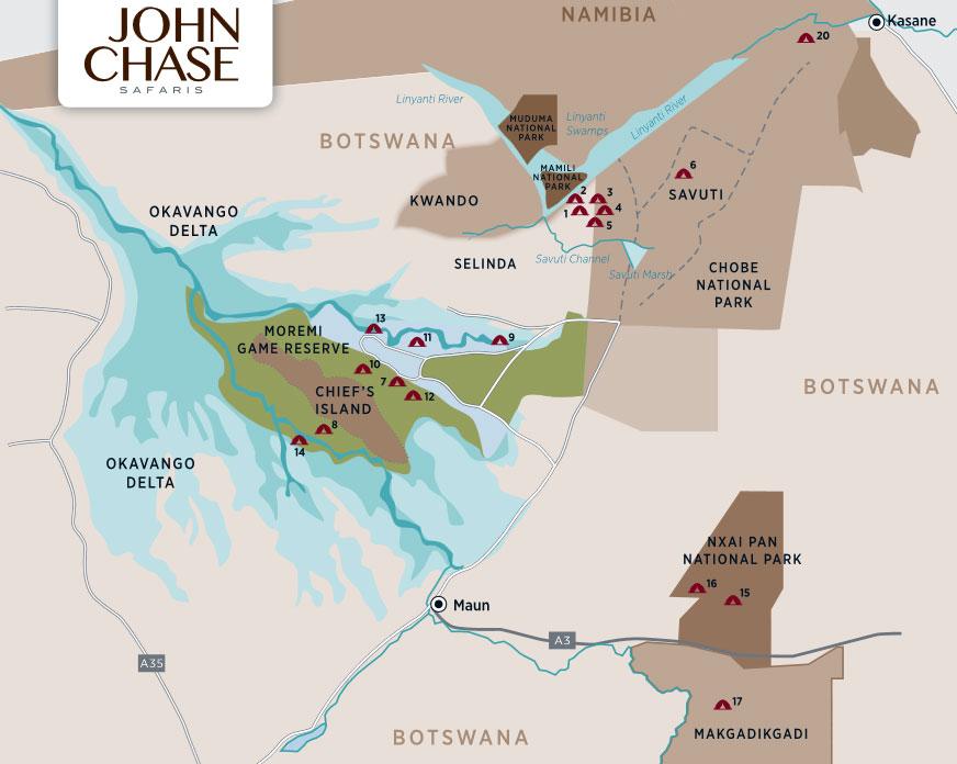 John Chase Safaris Luxury Mobile Camp